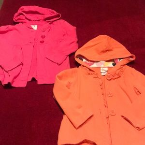 Other - 3T Old Navy/Circo Button Front Hooded Jacket